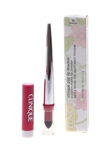 Clinique Clinique Pop Lip Shadow Matte-Fuchsia Pop 06 Renksiz